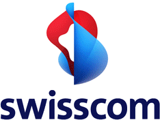 animated Swisscom logo